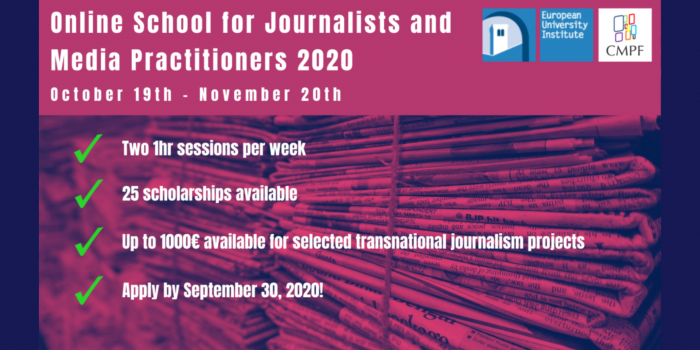 Early and mid-career journalists and other stakeholders in the news industry are School for Journalists and Media Practitioners